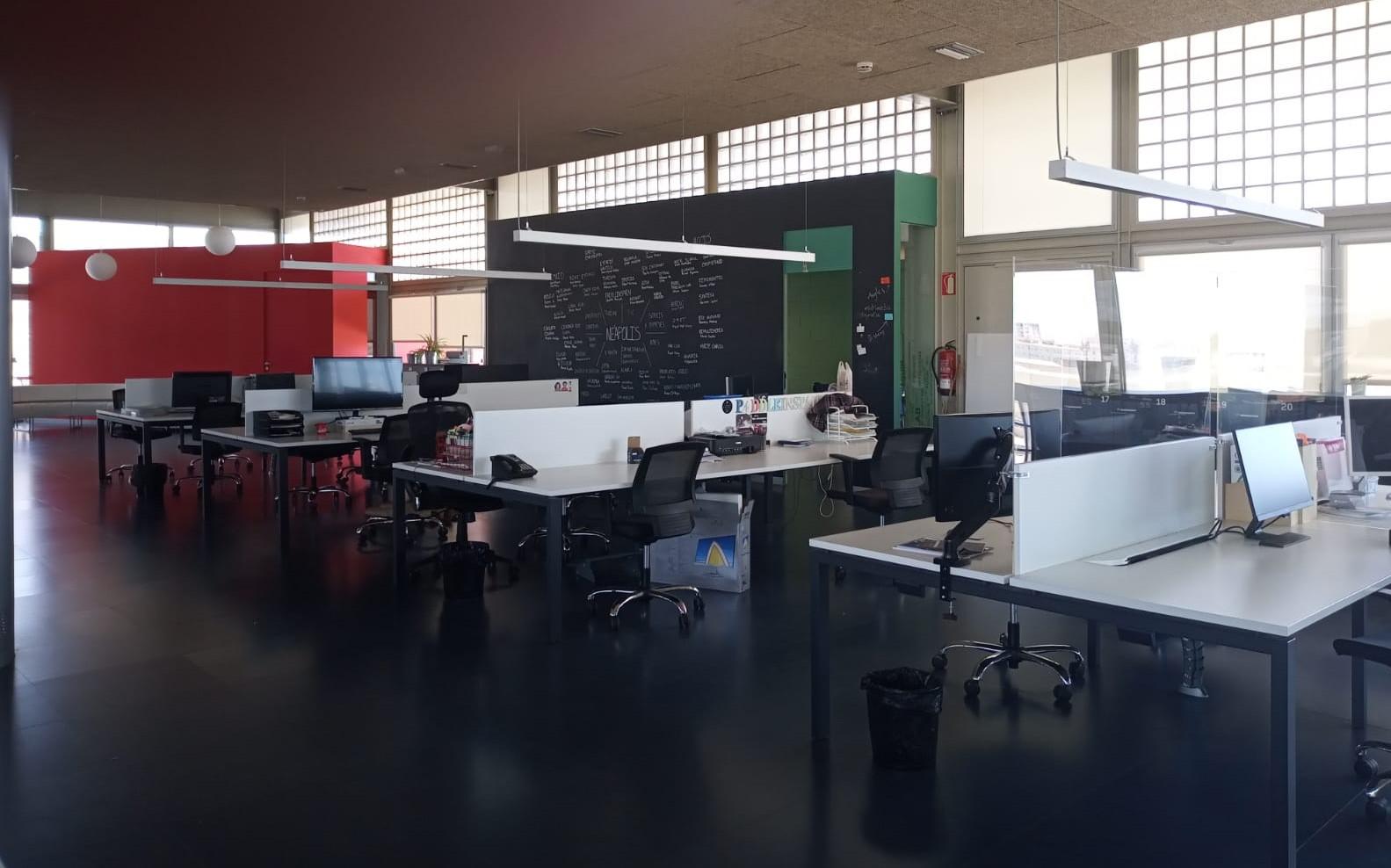 El Cowork, un espai adaptat a la nova realitat