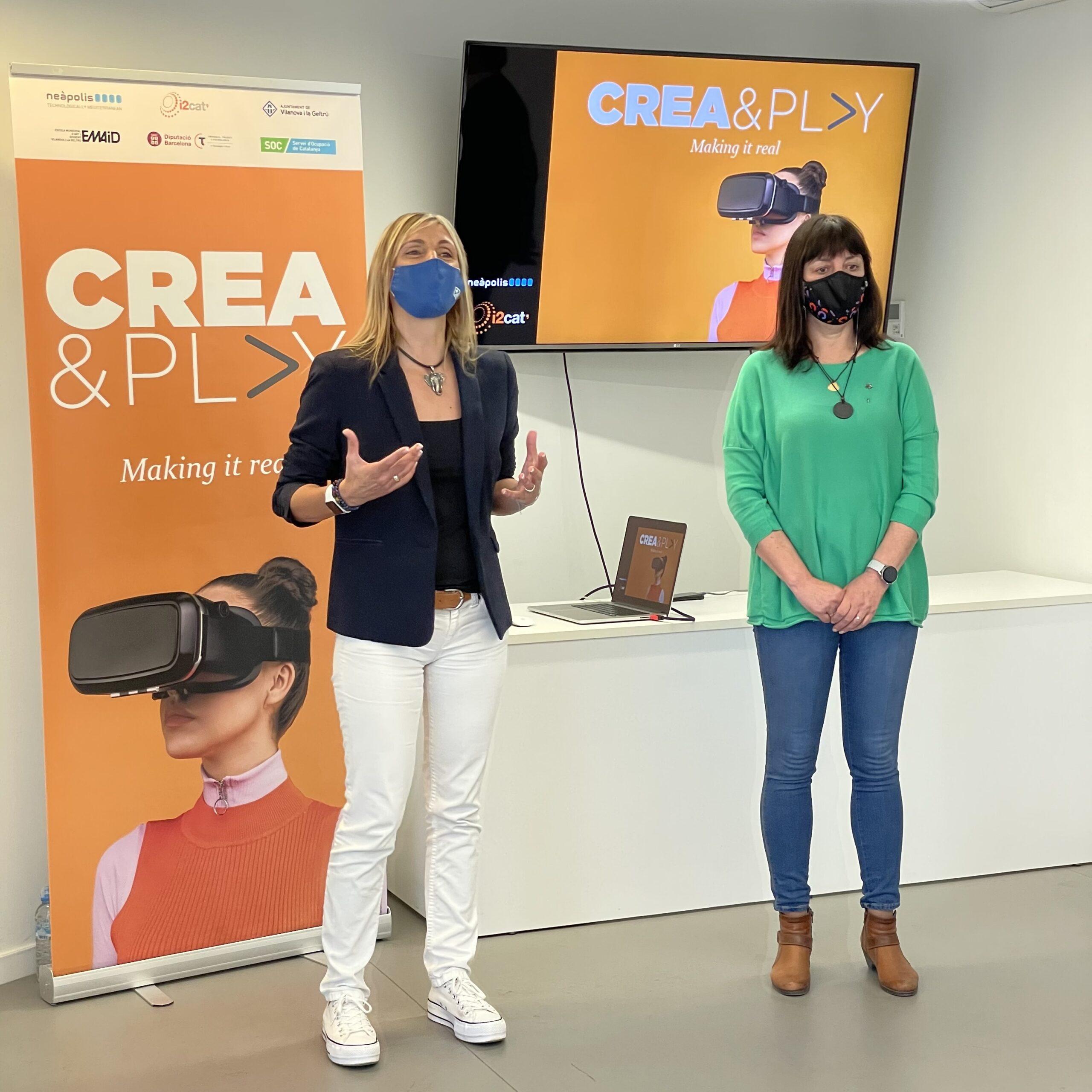 Crea&Play, el nou centre de gamificació i realitat virtual ubicat a Neàpolis