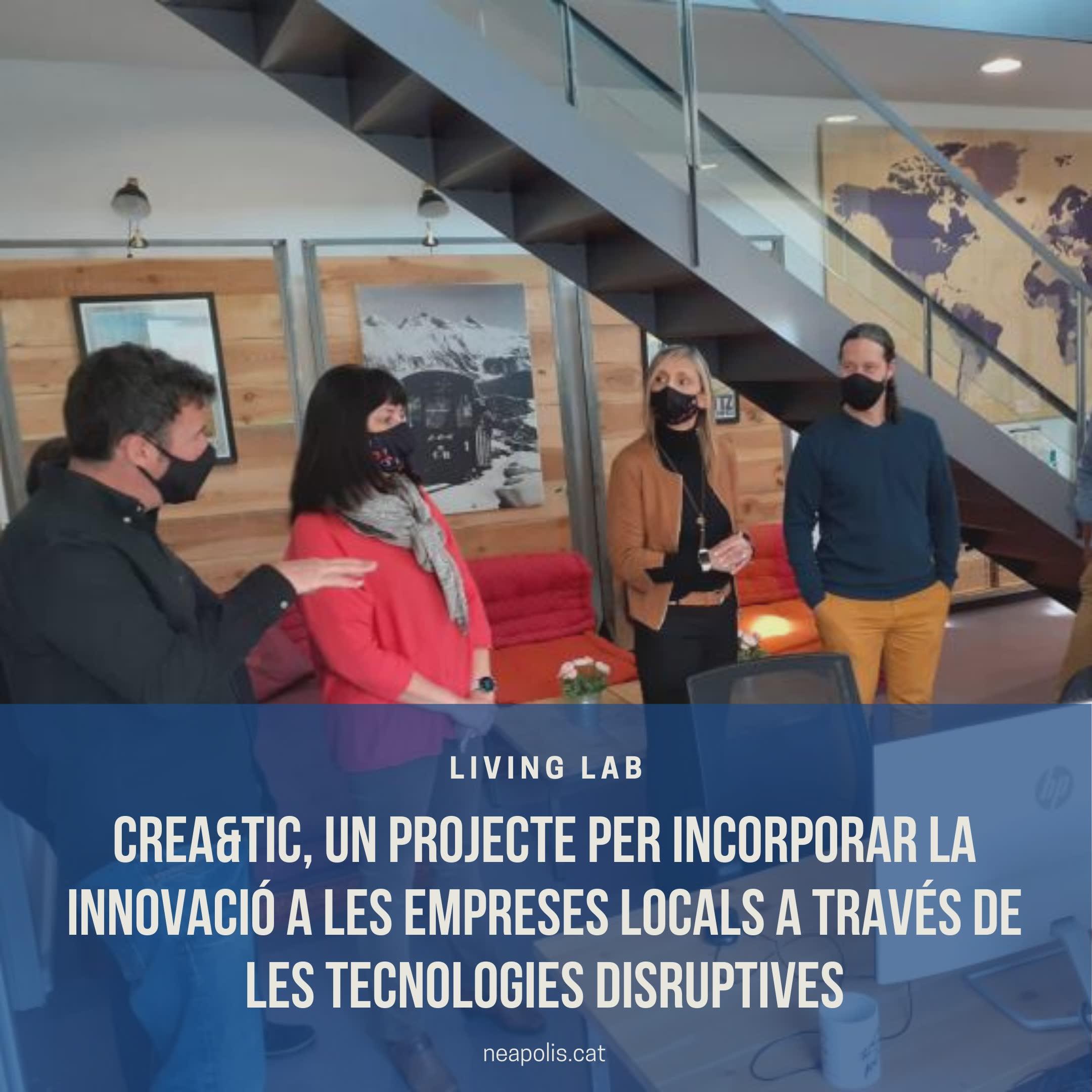 Crea&TIC, un projecte per incorporar la innovació a les empreses locals a través de les tecnologies disruptives