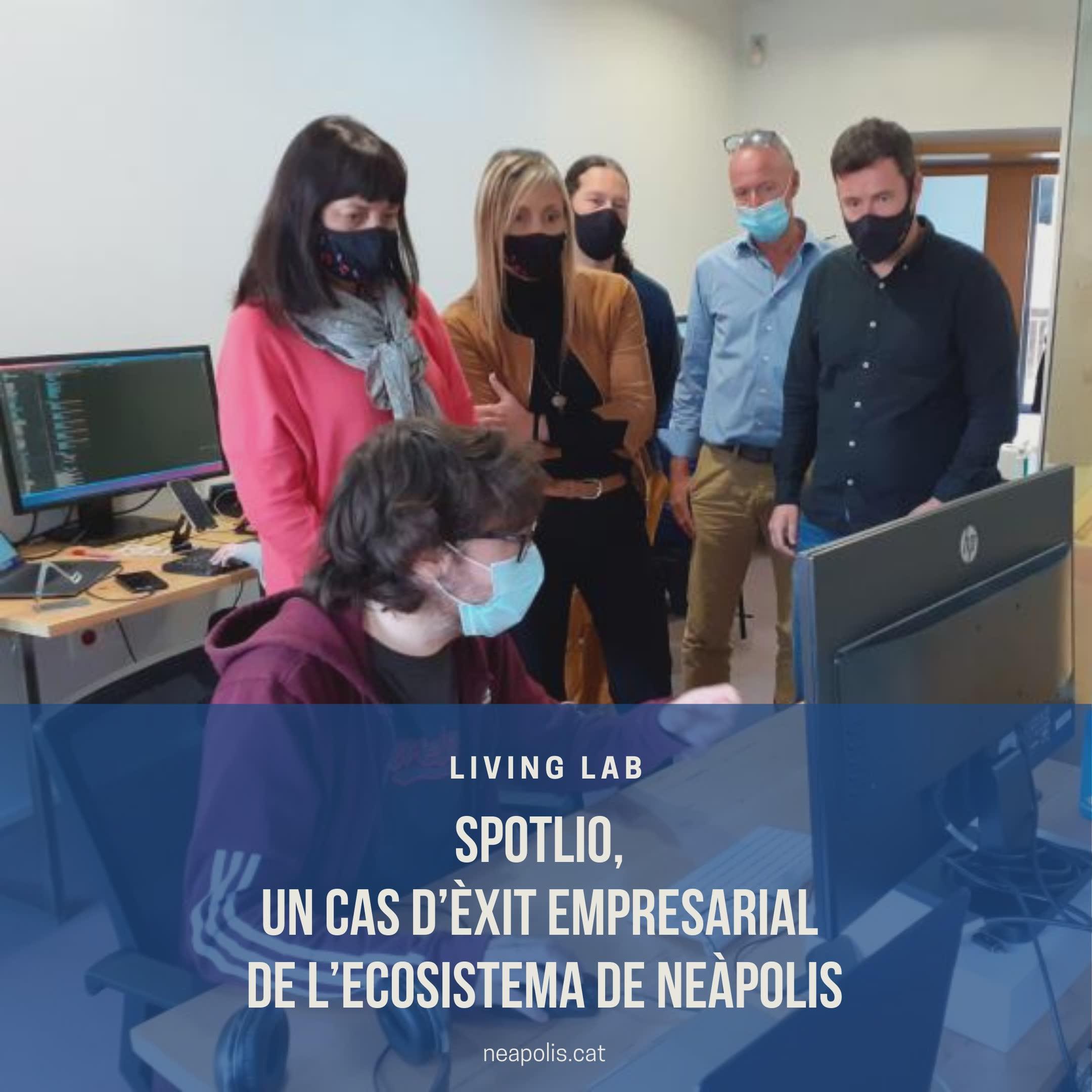 Spotlio, un cas d'èxit empresarial de l'ecosistema de Neàpolis